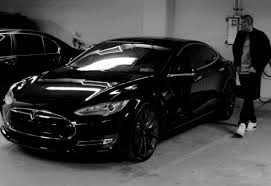 tesla model r jay z now owns a murdered out tesla model s apparently