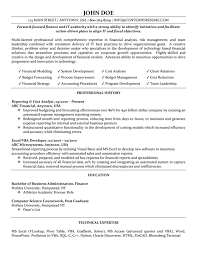 Systems Analyst Resume Example by Cost Analyst Resume