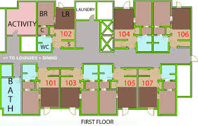 floor plans for assisted living facilities assisted living floor plans donatz info