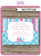 25 unique spa party invitations ideas on pinterest nail polish