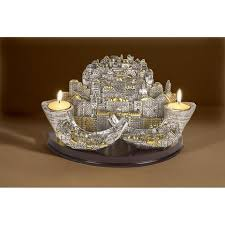 holy land gifts two shofars candleholders holy land gifts