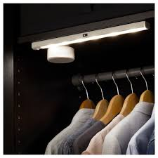 stötta led lighting strip battery operated white 35 cm ikea