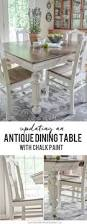 Cannes Dining Table Antique Dining Table Updated With Chalk Paint Antique Dining