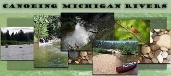 Canoe kayak paddle michigan rivers