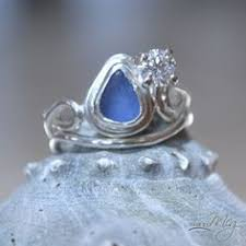 sea glass engagement rings sea glass engagement ring things i sea