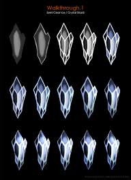 3584 Best Color And Paint by Coloring Gems And Crystals On All Tutorials Deviantart