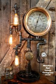 Steampunk Furniture Machine Age Lamps