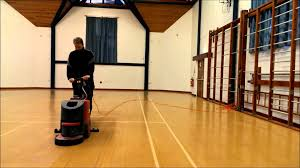 how to clean old hardwood floors how to clean a wooden floor using a scrubber drier youtube