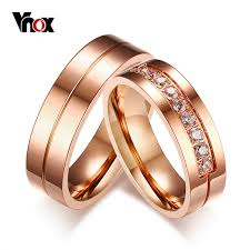 aliexpress buy vnox 2016 new wedding rings for women aliexpress buy vnox trendy wedding bands rings for women