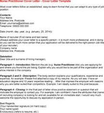 Cover Page Example For Resume by Nurse Practitioner Cover Letter Example Cover Letter Example