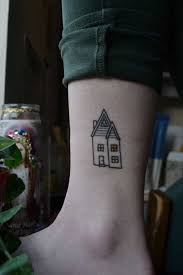 the 25 best house tattoo ideas on pinterest home tattoo psycho