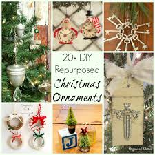upcycled and repurposed ornaments 20 different diy ideas
