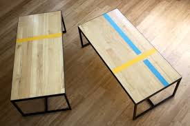 Gym Floor Refinishing Supplies by Basketball Court Recycled Table Google Search Projects To Try