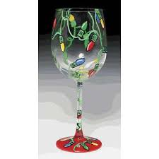 christmas wine glasses google search painted wine glasses