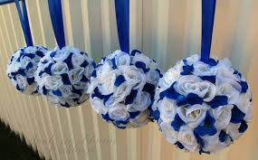 royal blue ivory and silver wedding decorations best wedding