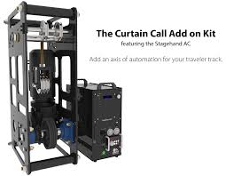 Stage Curtain Track Hardware by Curtain Call Traveler Winch Creative Conners