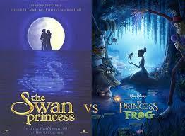 list homages disney u0027s princess frog swan