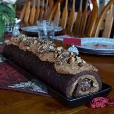 cuisine de noel 2014 bourbonnatrix bakes chocolate hazelnut bûche de noël