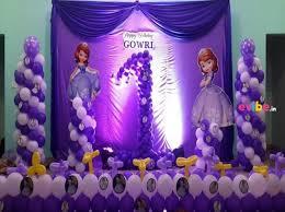 theme decor beautiful sofia the theme decor birthday theme