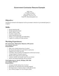 sample resume leadership skills bunch ideas of contractor sample resume on resume sample ideas of contractor sample resume for your service