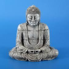 kazoo grey buddha aquarium ornament
