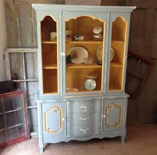 shabby chic china cabinet kitchen hutch french country painted furniture shabby chic