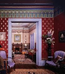 Victorian Dollhouse Wallpaper