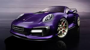 porsche rwb purple gemballa let 809 hp slide inside the porsche 911 turbo calls it