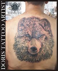 big wolf back doris artist doris aluf