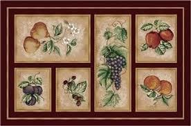 Fruit Kitchen Rugs Linen Universe Retail U0026 Wholesale Distribution