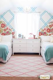 All Pink Bedroom - turquoise and pink bedroom chevron bedding pink throw