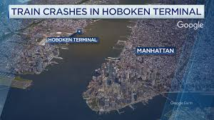 Nj Train Map Hoboken Train Crash Kills 1 Injures 108 Gov Chris Christie Says