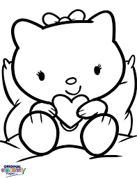 hello kitty u2013 coloring pages u2013 original coloring pages