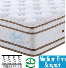 regal comfort king size mattress with double pillow top quality