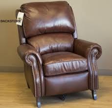 Brown Leather Recliner Barcalounger Churchill Ii Recliner Chair Leather Recliner Chair