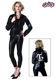 Black Leather Halloween Costumes 1950s Costumes U0026 Dresses Adults Halloweencostumes