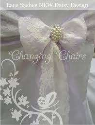 Bows For Chairs Lace Chair Cover Sashes Range Our New Design Addtions For Modern