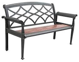 Steel Garden Bench Modern Steel Outdoor Bench With Metal Garden Bench Outdoor Park Bench