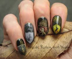 game of thrones nail art break rules not nails