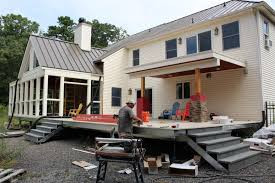 light gauge steel deck framing building a multilevel deck professional deck builder design