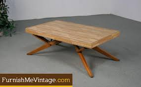 castro convertible coffee table converts to 6 seater dining table