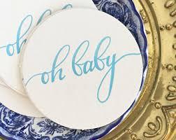 baby shower tableware baby shower decor etsy