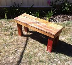Patio Furniture Made Out Of Wooden Pallets - diy pallet bench 9 steps