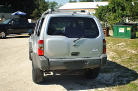silver nissan 2002 nissan xterra 4x4 silver used suv sale