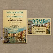 Post Card Invites Italy Wedding Invitations Vtw Nifty Printables