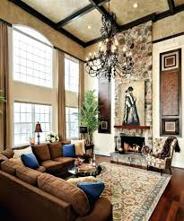 tuscan decorating ideas for living room tuscan decor ideas living room chandelier in high ceiling