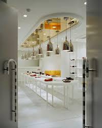 interior neo classical shop interior design feature curve stand