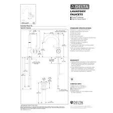 Delta Trinsic Faucet Black by Delta Faucet 559ha Bl Dst Trinsic Matte Black One Handle Bathroom