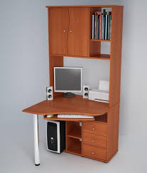 Small Wooden Computer Desks Wonderful Images Of Small Computer Desk An Option To Computer Desk