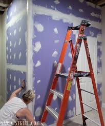 Quality First Basement by Recovering From A Flood Installing Purple Xp Drywall Sawdust